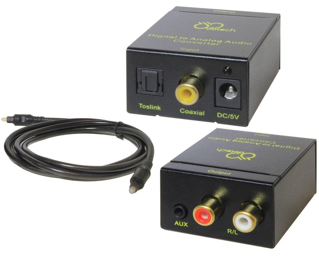 DB Tech Digital a analógico convertidor de audio para todos los ...