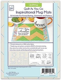 June Tailor Quilt As You Go Uplifting Inspirational Mug Mats