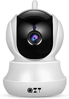 Cámara IP Cámara de Vigilancia QZT 1080P Wifi con Visión Nocturna Audio Bidireccional Giro / Inclinación Detección de Movimiento Alarma Email Cámara de Seguridad