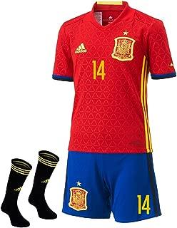 Adidas Isco #14 Spain Home Mini Kit UEFA Euro 2016