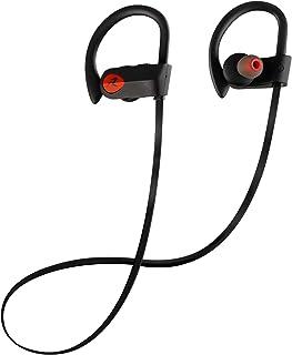 Redlemon Audífonos Inalámbricos Bluetooth Active Sport, con Sonido HD y Manos Libres, Resistentes a Salpicaduras de Agua y...