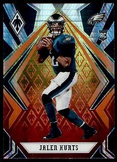 2020 Panini Phoenix Fire Burst #73 Carson Wentz Philadelphia Eagles Football Card