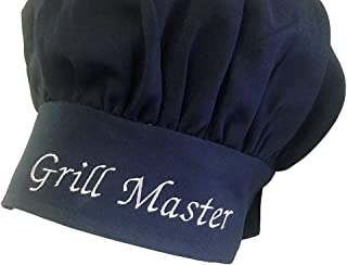 Personalized Custom Black Chef Hat Adjustable Makes a Great Gift!