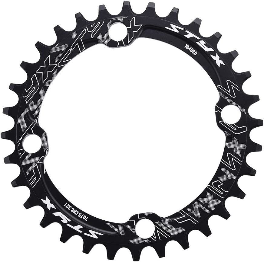 Eboxer Max 69% OFF Bicycle Manufacturer regenerated product Chainring Guard BCD 104 Steel Bike Mountain Singl