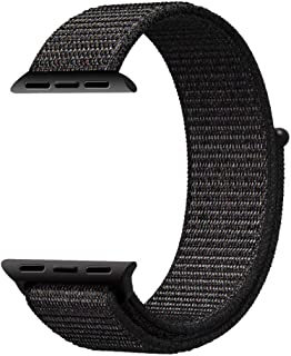 Mifan Official Nylon Loop Band for Apple Watch 44mm/42mm Series 1/2/3/4 Premium Strap Replacement Mesh Soft Breathable Wov...