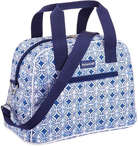 Kitchen Craft We Love Verano, Hold all-style Bolsa, tela, Azul, 15x 32x 25cm