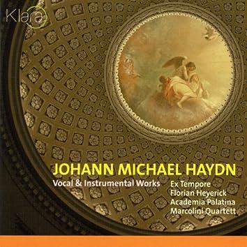 Johann Michael Haydn, Vocal