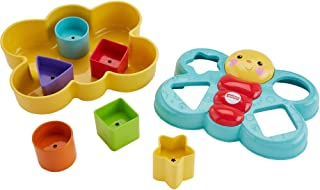 Fisher-Price Butterfly Shape Sorter, Six chunky, colorful shapes to sort – and help..