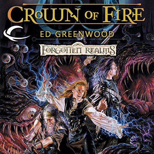 Crown of Fire audiobook cover art