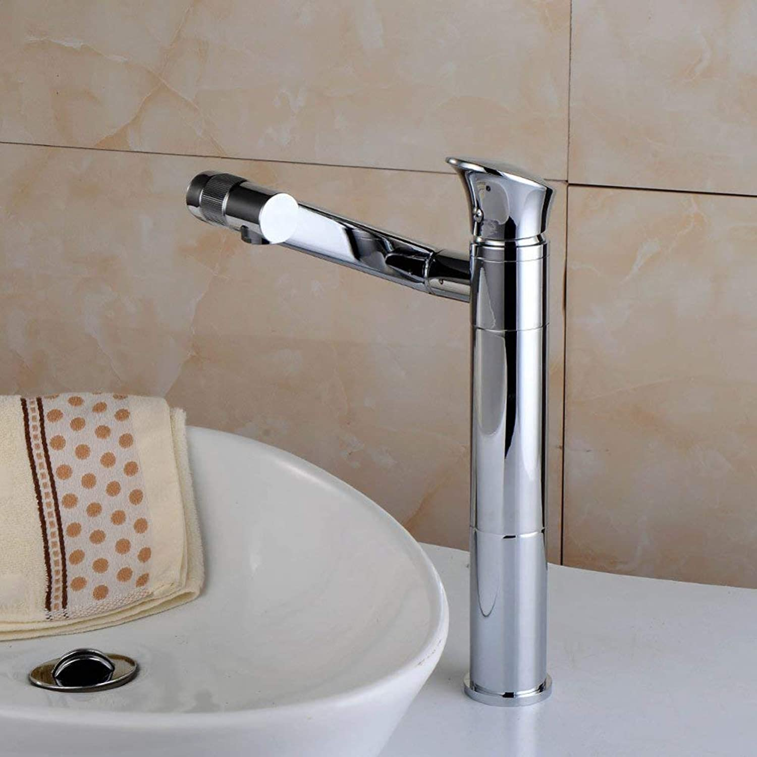 FaucetEuropean washbasin faucetBathroom redating washbasin faucetoverhead basin heightening hot and cold faucet