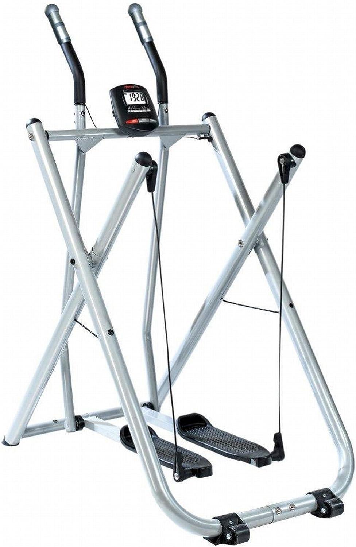SportPlus Crosstrainer Nordic Walker mit Trainingscomputer, bis 100 kg Benutzergewicht, klappbar, geprüft nach EN ISO 20957, SP-NW-004