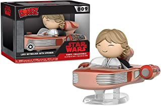 Limited Edition Star Wars Dorbz Ridez _Luke Skywalker w/Speeder Vinyl (006)
