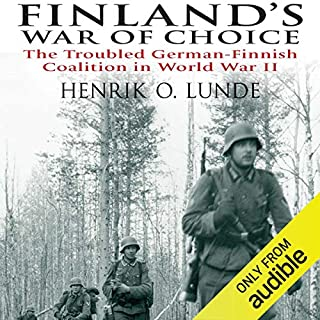 Finland's War of Choice audiobook cover art