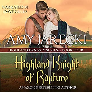 Highland Knight of Rapture audiobook cover art