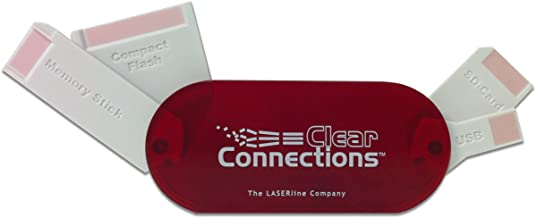 LASERLINE Clear Connections 4 in 1 Memory Card Slot Cleaner