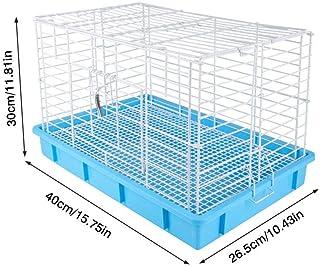 Jaulas de Conejos, jaulas domésticas de Conejillos de Indias, hábitats de Tipo Jaula de Animales pequeños, utilizados para la defecación automática de Suministros de Villa a Gran Escala