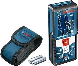 Dalmierz laserowy GLM 50 C Bosch Professional (transfer danych przez Bluetooth, czujnik nachylenia 360°, zakres pomiarowy:...