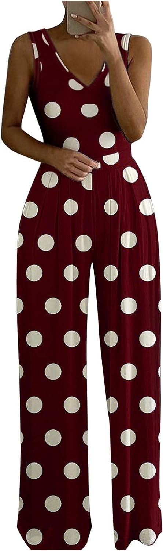 BEIBEIA Women High Waist Boho Printing Easy Trousers Long Pants Beach Pockets Lounge Wide Leg Stretch Drawstring Pants