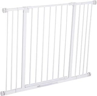 Pawhut Barrera de Seguridad Extensible Puertas y Escaleras