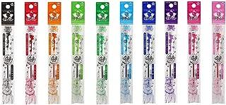 Pilot Hi-Tec-C Coleto Gel Ink Pen Refill 0.4mm Sailor Moon Ribbon / 10 Color Set