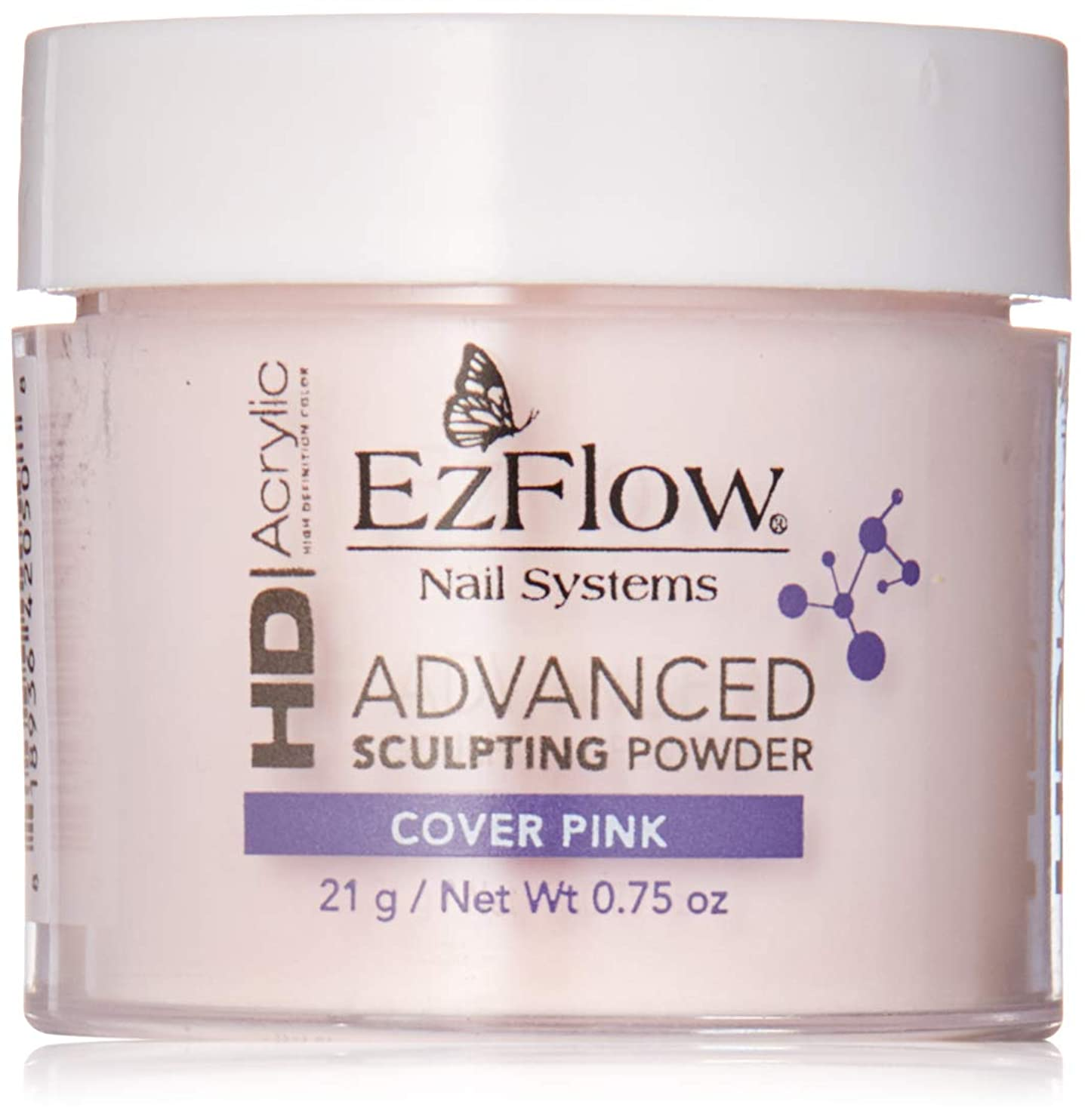EzFlow High Definition Powder - HD Cover Pink Powder - 0.75oz / 21g