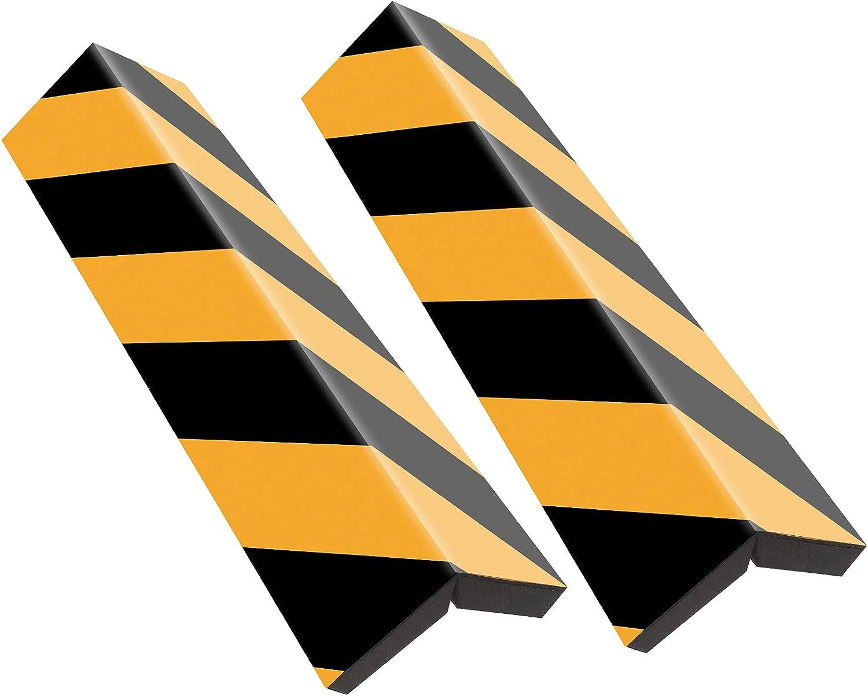 Paracolpi auto - Rovtop 2 Pezzi Paraspigoli per Colonna Garage, Proteggi Auto e Muri