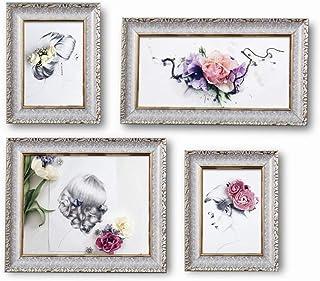 ZHITENG Colgante Foto Pantalla Foto Pared M Combinación de M, Pared Cálida Colgando en el Dormitorio Sala de Estar Restaur...