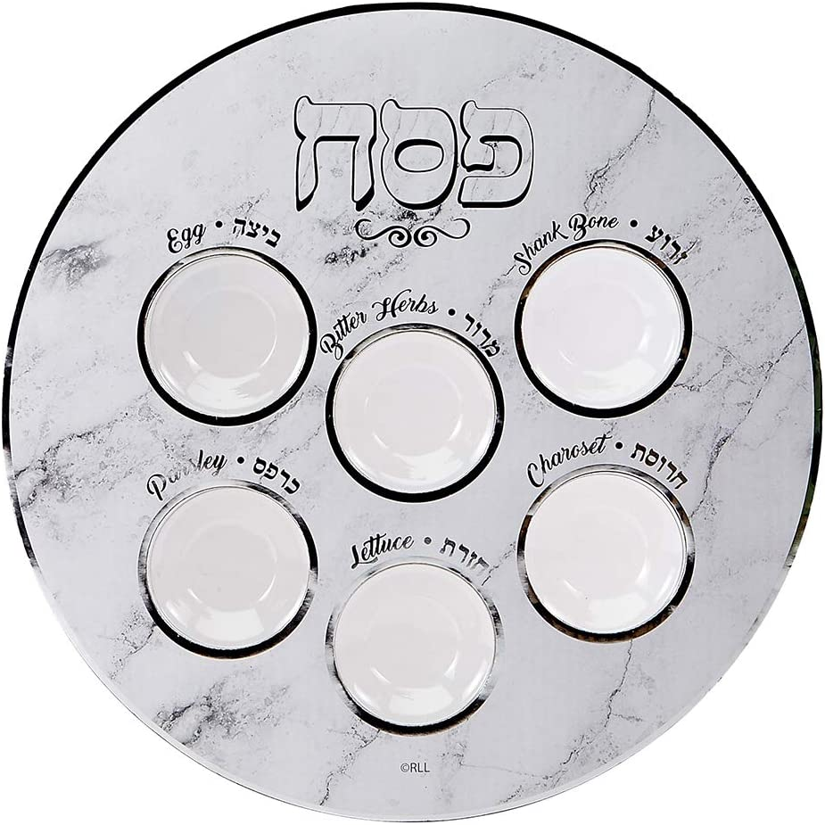 Sale Special Price Rite Year-end annual account Lite Passover Disposable Paper Includes - Meal Plate Seder