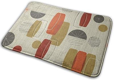 """Retro Linen Textured Weave Doormat Non Slip Indoor/Outdoor Door Mat Floor Mat Home Decor, Entrance Rug Rubber Backing Large 23.6""""(L) x 15.8""""(W)"""