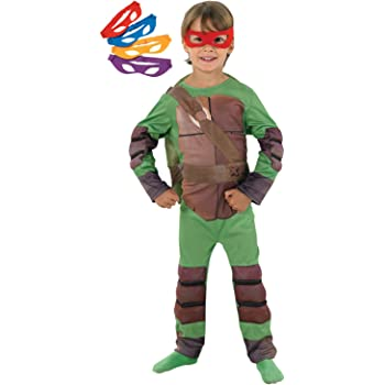 Rubbies - Disfraz de ninja para niño, talla L (128 cm) (I-886812L ...
