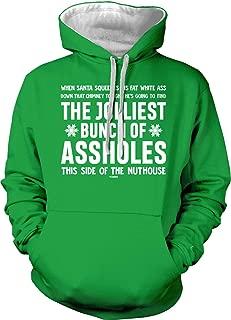 Tcombo Jolliest Bunch of Assholes - Funny Christmas Unisex Hoodie Sweatshirt