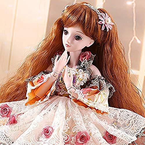 ZNDDB Realistischer Look 60 cm Reborn Baby Puppe,Kann Kleidung wechseln, Kinder Weihnachtsgeburtstagsgeschenk