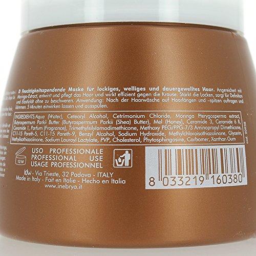 Masque hydratant - 500ml - Curly Plus - Bouclés et indisciplinés, Inebrya