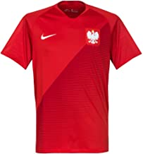 NIKE Mens Poland M NK BRT STAD JSY SS AW 893892-611_XL - Sport RED/Gym RED/White