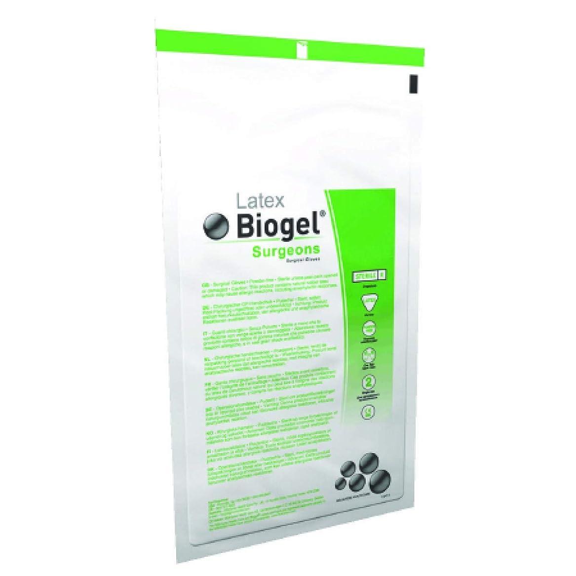 特別なリダクター繕うBiogel Surgeons Gloves - Latex Powder Free - Sterile - 7.0 (50 Pairs) by Biogel