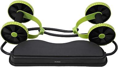 TA Sport AB Slid Exercise Wheel - Black/Green