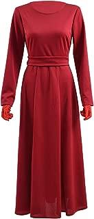 Hot TV Series Handmaid Costume Red Dress Cloak Head-Cover Full Set Women Costume