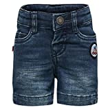 Lego Wear Duplo Boy Penn 303-DENIM Shorts, Pantaloncini Bimbo, Blau (Denim 69), 9 Mesi