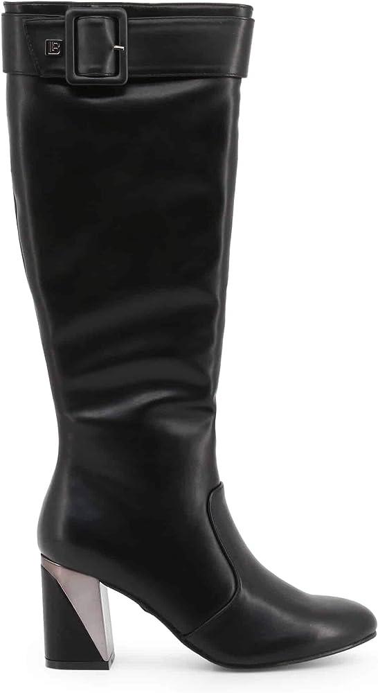Laura biagiotti, stivali da donna casual al ginocchio,in  pelle sintetica PLA150298S