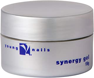Young Nails Synergy Gel, Base, Clear, 1.05 oz