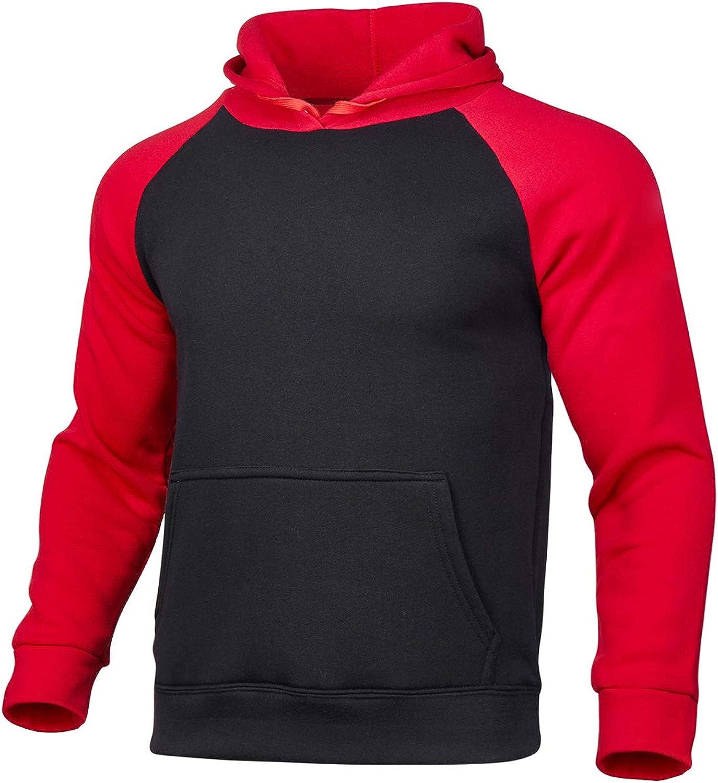 Eghunooye Sportanzug Joggingsanzug Herren Hoodie Sweatshirt Top mit Kapuze Kordelzug Sporthose mit Tasche Slim Fit Sport Jogging Training Anzug Freizeitanzug S-3XL