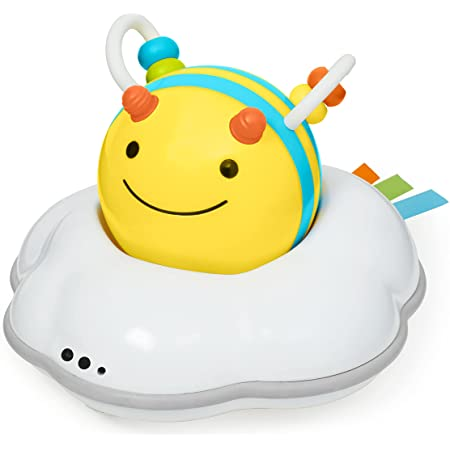 Skip Hop 3-Stage Developmental Learning Crawl Toy, Explore & More Follow-Me Bee