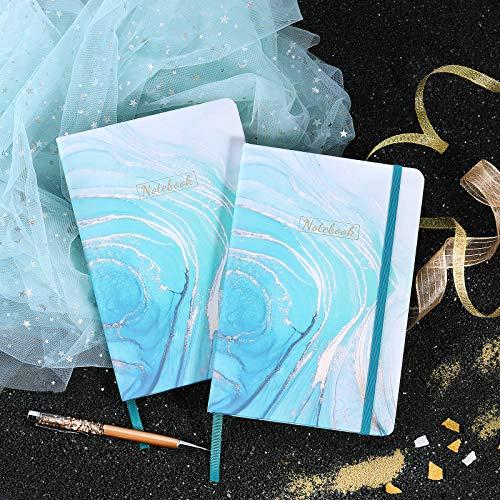 Cuaderno A5 / Bloc de notas - Cuaderno A5 forrado con papel premium, 5.8