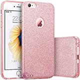 Loxxo® Glitter Skin Soft Silicone Slim Back Cover Case for Apple iPhone 6