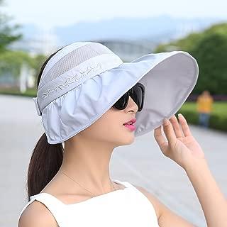 ZRL77y Ladies Foldable Sun Hat Floppy Bucket Cap Women Beach Sunhat (Color : Gray)