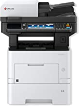 Kyocera 1102TB2US0 Ecosys M3655idn B&W MFP; Resolution Up to Fine 1200 Dpi; Print, Scan, Copy and Fax Functions; Up to 57 PPM; Mobile Printing Ready; HyPAS Business Applications Ready