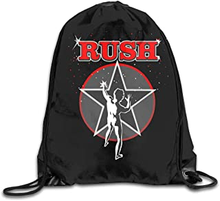 Drawstring Bag Rush Red 2112 Starman Gym Sport Bags Cinch Sacks Travel Hiking Backpack For Men Women