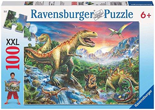 Ravensburger Italy- Dinosauri Preistorici Puzzle per Bambini, Multicolore, 100 Pezzi, 878367