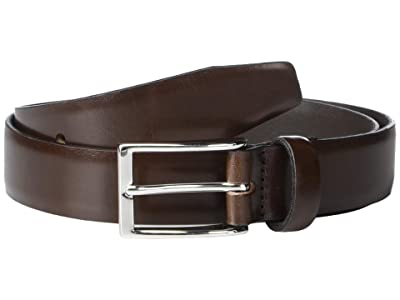 J.Crew New Leather Dress Belt (Cigar Brown) Men