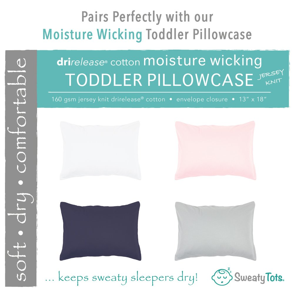 Toddler Pillow for Hot or Sweaty